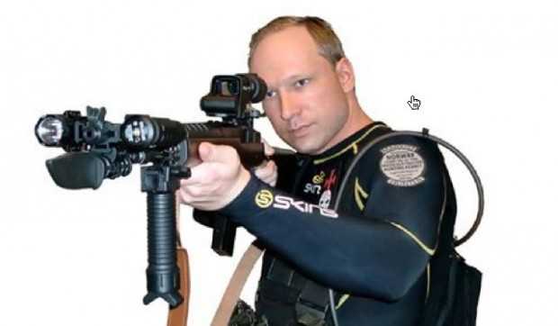 A terrorist from Norway: Anders-Behrin-Breivik. If you do not know about him, Google his name to get enlightened