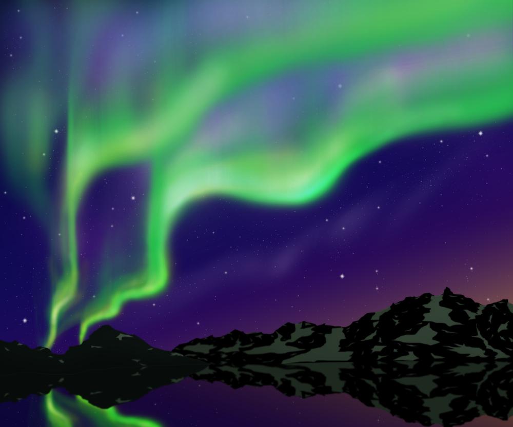 В одних сагах лучи aurora borealis были зайчиками