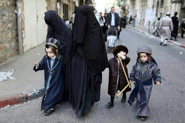 Jewish women in Burqa