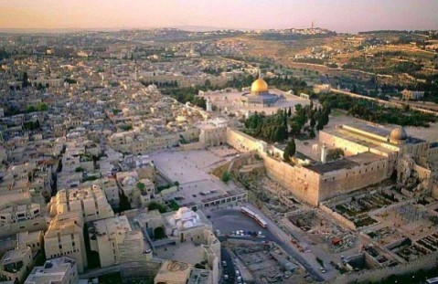 Umar Farooq found the Temple Mount to be a garbage dump for Jerusalem in the 7th century and personally cleaned and restored it!