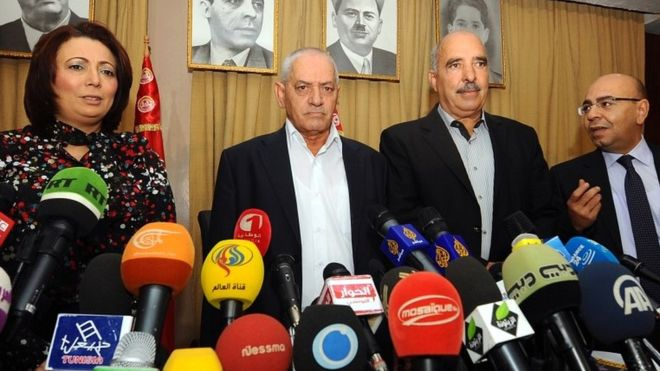 The quartet is made up of mediators from four Tunisian organisations